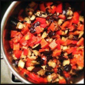 Toastje paprika-aubergine chutney2