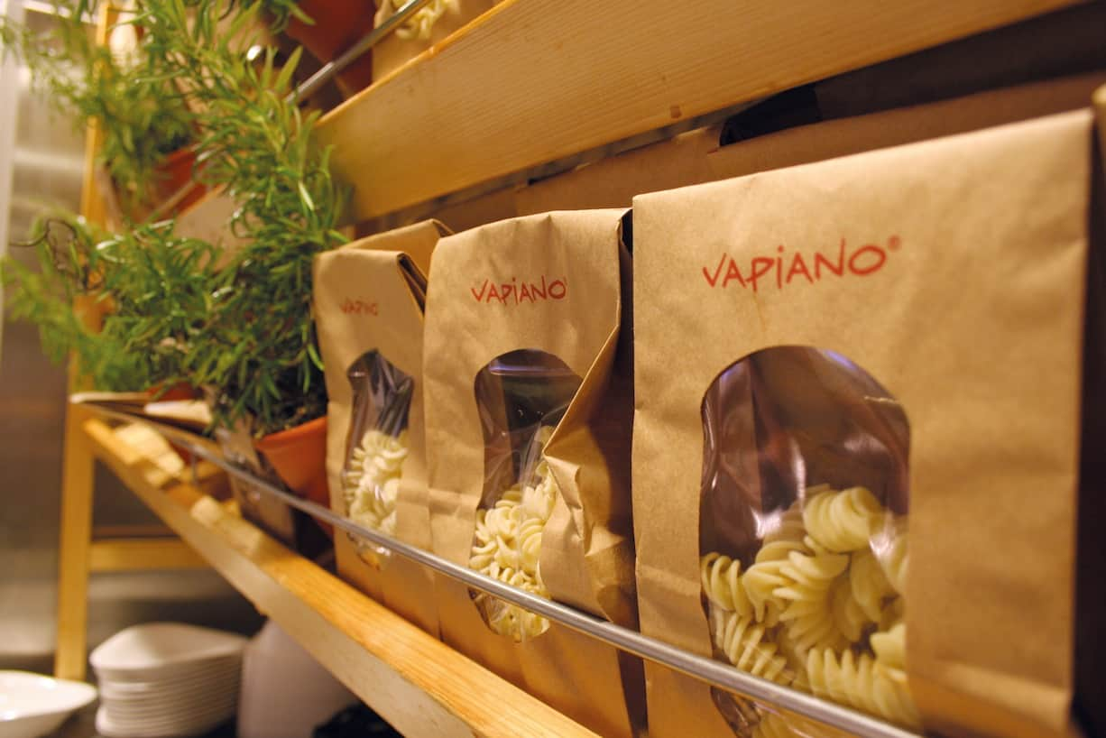 Vapiano_zakjes pasta