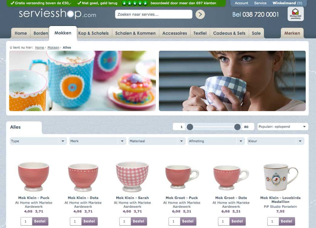 Website serviesshop.com