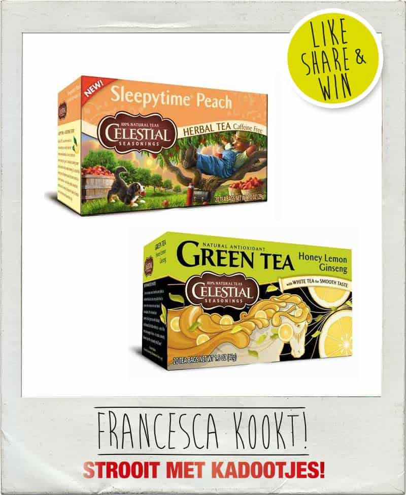 Win Celestial Seasonings theepakket_2
