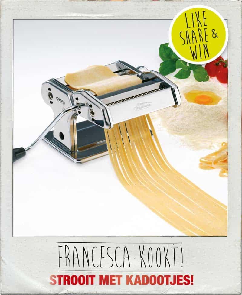 Win een pastamachine bij Francesca Kookt_2