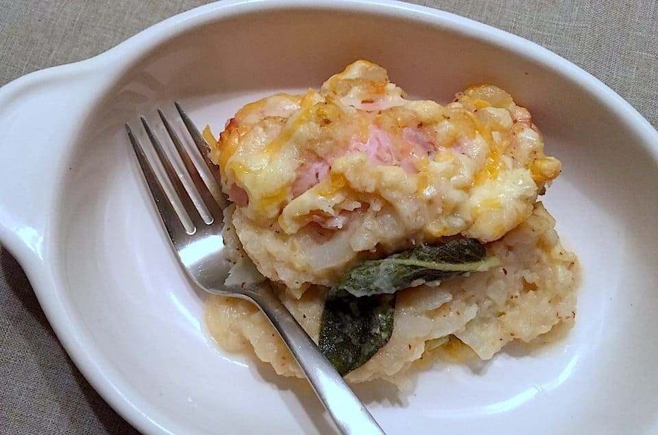 witlof met kalkoen en kaas uit de oven - francesca kookt