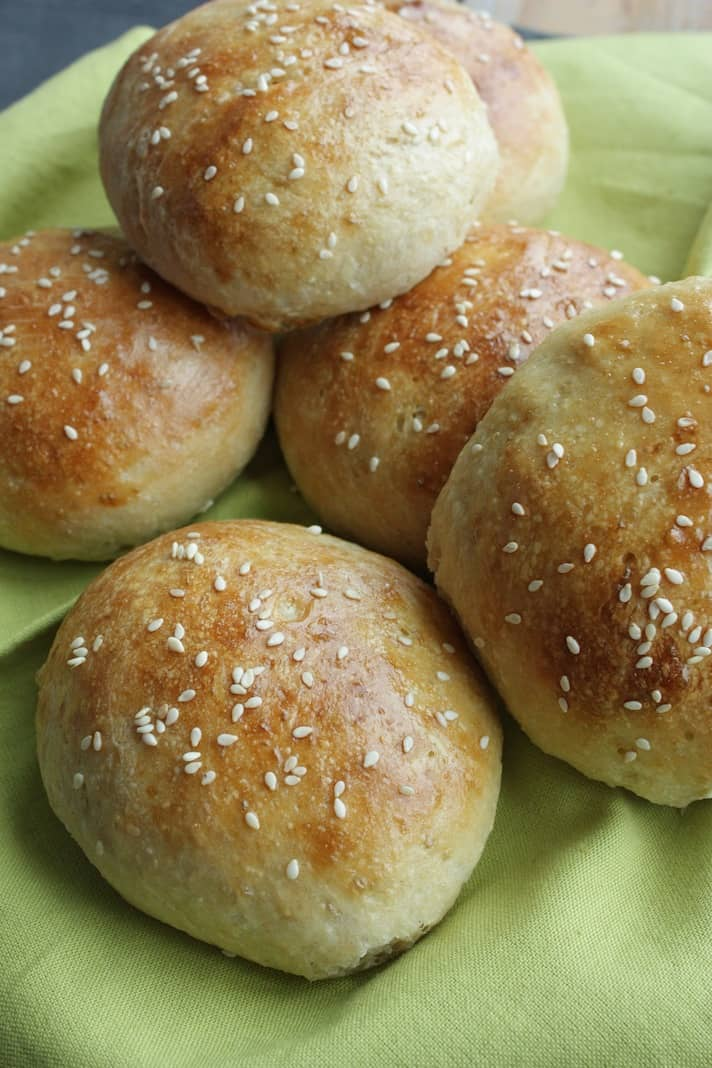 Zelf hamburgerbroodjes maken2
