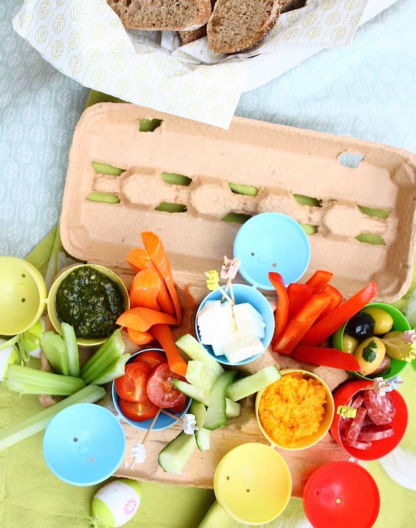 bewaar je eierdoos voor deze paas snacks 3