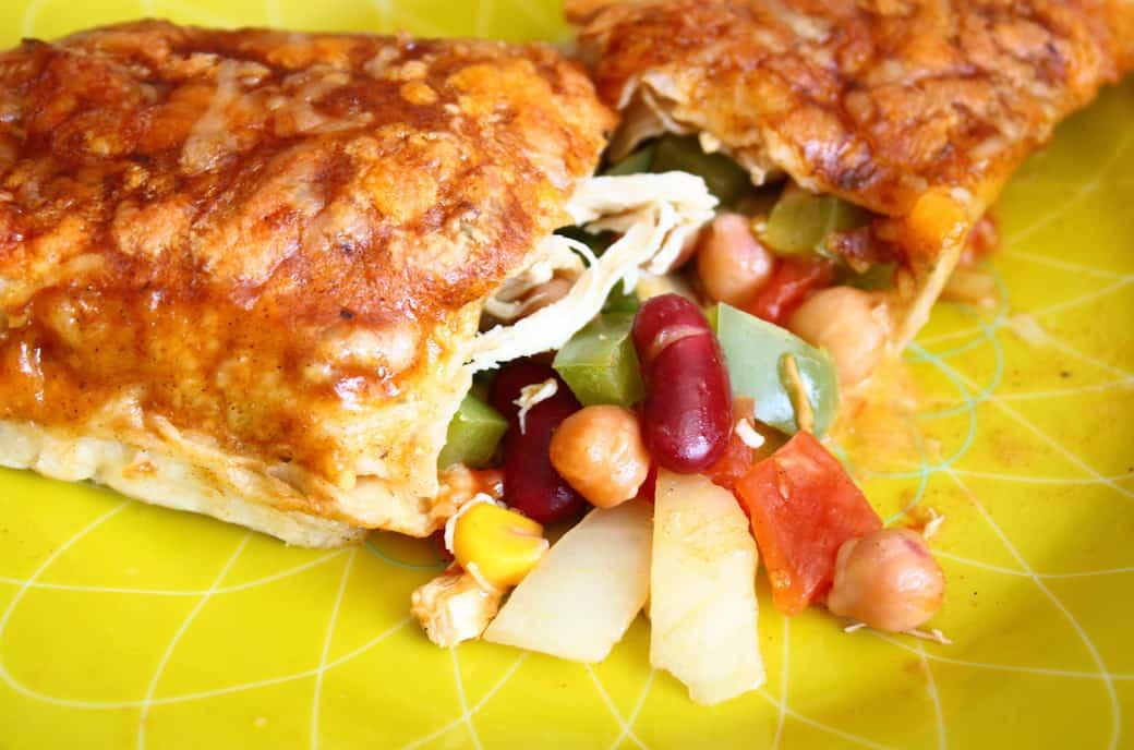 kip-enchiladas-bonen-erbij-4