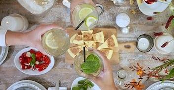 Tip: een Running Dinner met vrienden