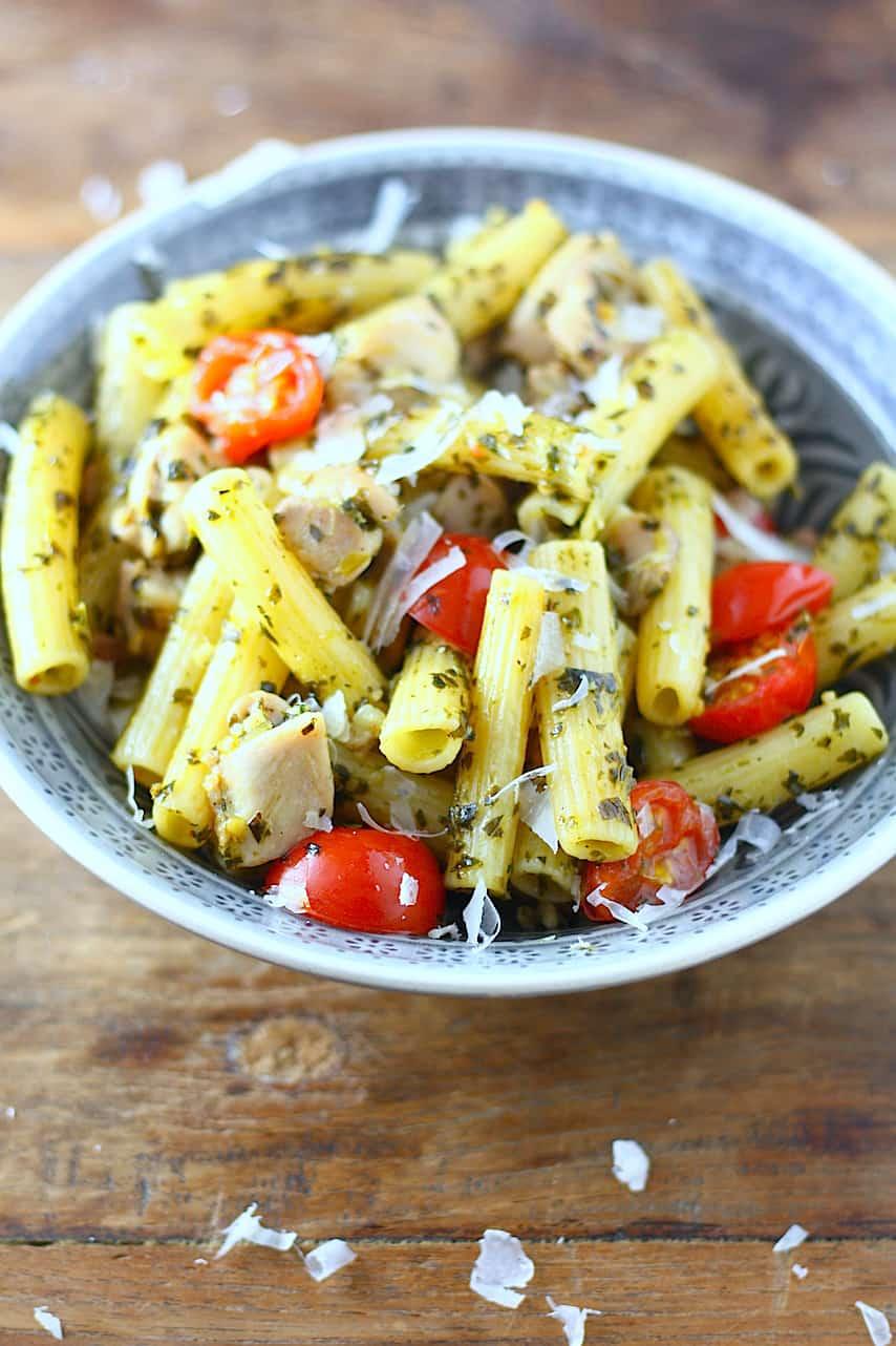 pasta-met-kip-en-boerenkoolpesto-1