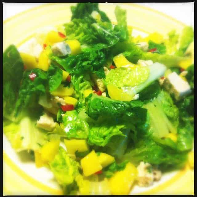 salade kip, mango, chili, koriander2