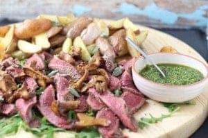 steak chimichurri van sukade