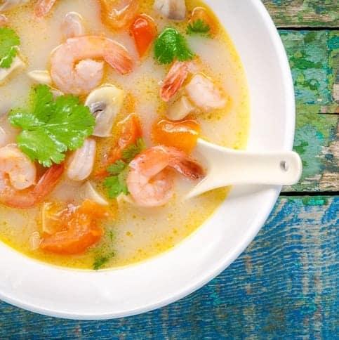 thaise-kokossoep-met-garnalen-2
